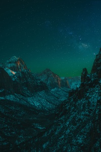 Starry Night In Zion National Park 5k