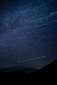 1280x2120 Starry Skies 5k