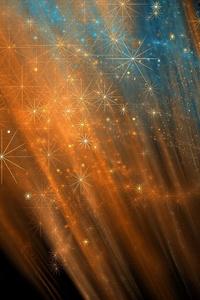 Stars Abstract Lights 4k