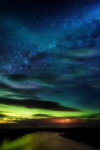 480x854 Stars In New Zealand 5k
