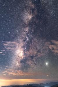 750x1334 Stars In Sky 8k