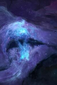 1080x1920 Stars Space Spot