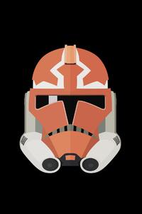 480x854 Starwars Helmet 4k