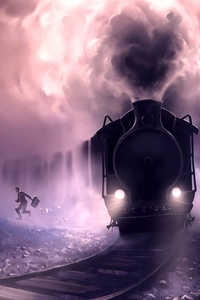 540x960 Steam Train Escape