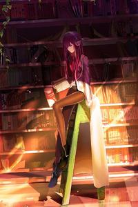 Steins Gate Makise Kurisu Anime Girl
