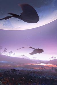 Stingray Alien Planet 5k