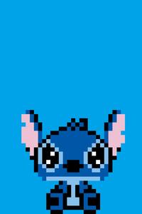 750x1334 Stitch Pixel Art