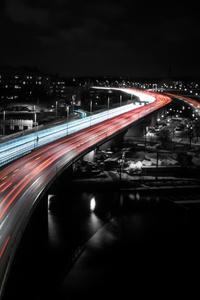 Stockholm Highway Speed Trails Lights