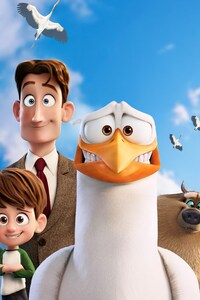 640x1136 Storks Animated Movie 5k