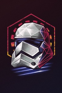 Stormtrooper Helmet Minimalist