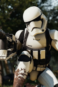 1242x2688 Stormtrooper Star Wars Battlefront 2 4k