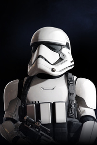 1242x2688 Stormtrooper Star Wars Battlefront 2 5k
