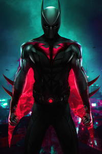 480x800 Stranger Batman Beyond 4k