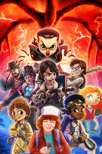 540x960 Stranger Things Artwork New