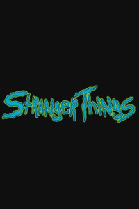 1080x1920 Stranger Things Creative Logo 4k