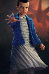 240x400 Stranger Things Eleven