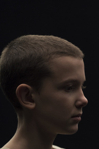 1242x2688 Stranger Things Millie Bobby Brown As Elven