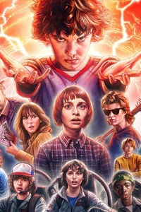 320x480 Stranger Things Season 2 2017 4k