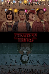 1280x2120 Stranger Things Season 2 FanArt