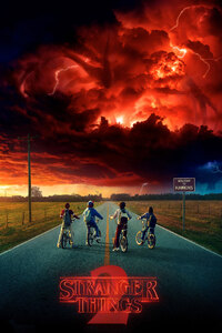 1125x2436 Stranger Things Season 2