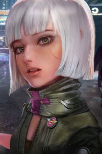 640x960 Strangers In Night City Cyberpunk 2077