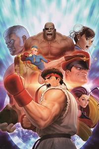 Street Fighter 2018 Artwork