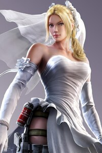 640x1136 Street Fighter X Tekken Nina Williams