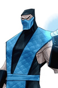 480x854 Sub Zero Digital Art