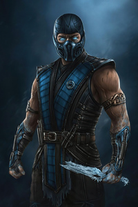 Sub Zero From MortalKombat Movie 4k