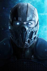 720x1280 Sub Zero Mortal Kombat Art 4k