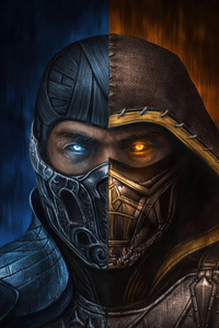 Sub Zero X Scorpion MortalKombat Movie 4k