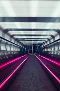 240x320 Subway Motion Blur