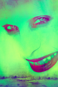 720x1280 Sucide Squad Joker Green 5k