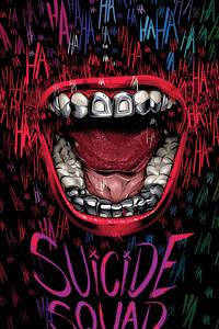 Suicide Squad Typography