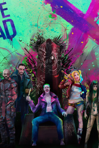 1125x2436 Suicide Squad Worst Superheroes Ever