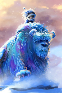 480x800 Sulley And Mike Monsters