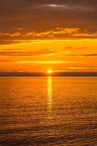 Sun Sea Evening Beautiful