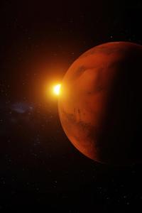 800x1280 Sunlight On Mars 5k