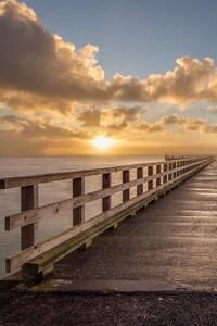 Sunrise At Dock