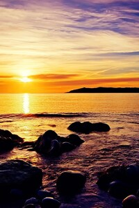 240x320 Sunrise Beach HD