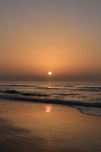 1440x2560 Sunrise Huntington Beach State Park 8k