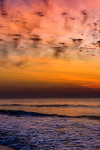 1080x2280 Sunrise Huntington Beach State Park South Carolina 4k