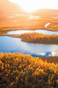 1080x1920 Sunrise In Swedish Lapland 4k