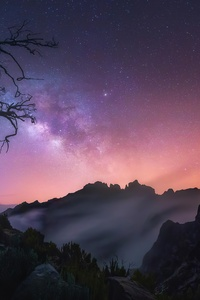 1242x2688 Sunrise Madeira Portugal 4k