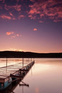 1080x1920 Sunrise Morning Pink