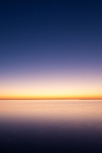 Sunrise Ocean Minimalism Simple Background
