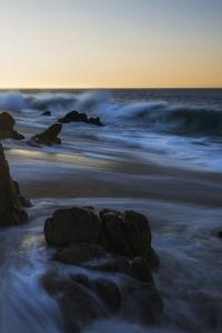 480x854 Sunrise Over Cliff Long Exposure