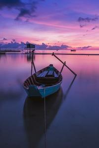 Sunrise Phu Quoc Island Boat Ocean