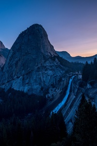 320x480 Sunrise Yosemite Valley 5k