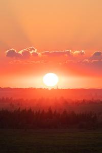 1080x2280 Sunset 8k